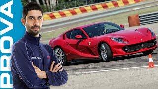 Download Ferrari 812 Superfast   800 CV e 340 all'ora sulla V12 più veloce che c'è! Video