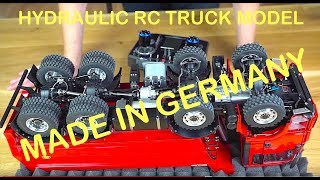 Download RC TRUCK ACTION REVIEW - MAN TGS 8x8 DUMP TRUCK - ScaleART Video