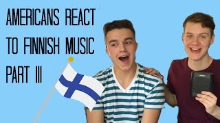 Download AMERICANS REACT TO FINNISH MUSIC PART 3 Video
