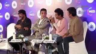 Download Ulganayakan Kamal Hassan with Kannada Stars at MEBC 2013 Video