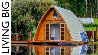Download This Floating Tiny Cabin Is The Ultimate City Escape Video
