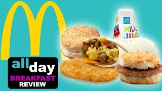 Download McDonald's All Day Breakfast Dollar Menu-The Food Review-ep.94 Video