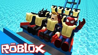 Download RIDE A ROLLER COASTER IN ROBLOX Video