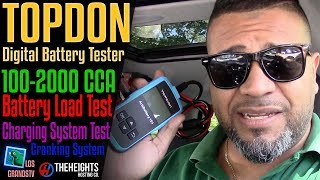 Download Topdon AB101 Digital Battery Test Tool 🚘 : LGTV Review Video