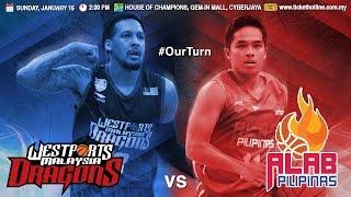 Download Westports Malaysia Dragons vs. Alab Pilipinas | LIVESTREAM | 2016-2017 ASEAN Basketball League Video