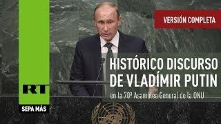 Download Histórico discurso de Vladímir Putin en la 70ª Asamblea General de la ONU (Versión completa) Video