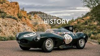 Download This 1954 Jaguar D-Type Represents A Shared History Video