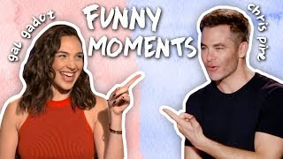 Download Gal Gadot & Chris Pine's Friendship! CUTE & FUNNY MOMENTS! Wonder Woman Interviews Video