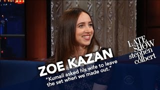 Download Zoe Kazan Fell Asleep On Set While Playing A Coma Patient Video