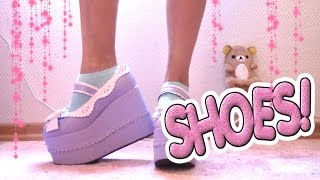 Download Mina skor/klackar! (kollektion) / My shoe collection! ❤️ Kawaii, platform, lolita, demonia, gothic Video