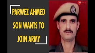 Download Deshhit: Martyr army officer Parwez Ahmed son wants to join Indian army Video