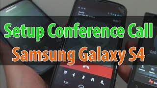 Download Samsung Galaxy S4: How to Setup a Conference Call Using Call Merge Video