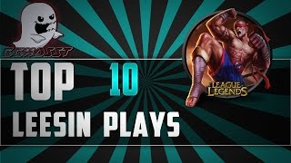 Download Lee Sin Top 10 Plays   League Of Legends Video