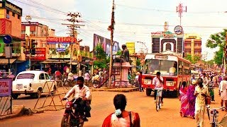 Download Driving Around Thanjavur City, Tamil Nadu - India 2014 HD Video