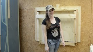 Download DIY Fold Down Workbench Video