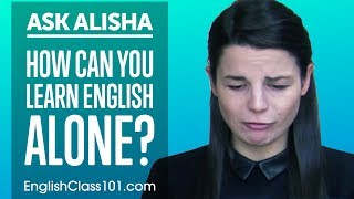Download How Can You Learn English Alone? Self-Study Plan! Ask Alisha Video