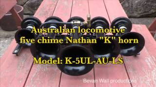Download Australian locomotive five chime Nathan K horn Video