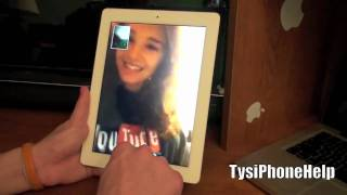 Download Facetime for the iPad 2 Video