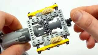 Download Super-small Lego Technic automatic gearbox Video