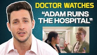 Download Real Doctor Reacts to ″Adam Ruins the Hospital″ Video