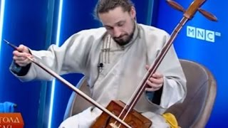 Download Frenchman destroys on Mongolian Morin Khuur, mesmerizing locals Video