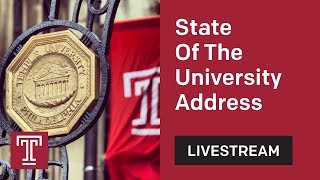 Download Temple University President's 2018 State of the University Address Video
