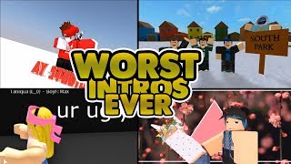 Download Worst Roblox Intros Ever Video