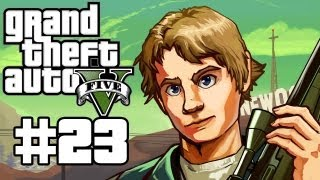 Download Grand Theft Auto 5 Gameplay / Playthrough w/ SSoHPKC Part 23 - SWAT Team Takeover Video