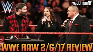 Download WWE Raw 2/6/17 Review, Results & Reactions: Roman Reigns vs Samoa Joe, Goldberg vs Kevin Owens Video