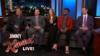 Download Avengers: Infinity War Cast Reveals What They Stole from the Set Video
