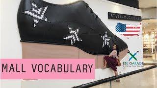 Download Vocabulary at the mall🛍🛒 | Từ vựng tại trung tâm mua sắm | Vocabulario en el centro comercial Video
