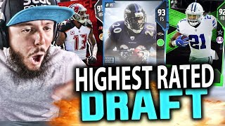 Download HIGHEST RATED DRAFT!! MADDEN 18 DRAFT CHAMPIONS GAMEPLAY Video