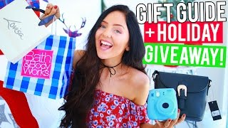 Download HOLIDAY GIVEAWAY + Gift Ideas / Gift Guide For Christmas 2016! Gifts for Teens & Affordable Gifts! Video