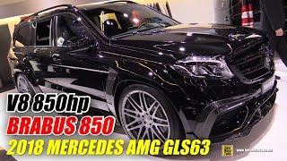 Download 2018 Mercedes AMG GLS63 Brabus 850 - Exterior and Interior Walkaround - 2017 Frankfurt Auto Show Video