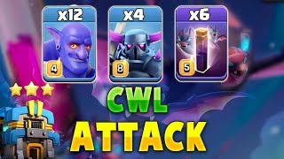 Download New TH12 Strategy 2019! 4 Pekka +6 Bat Spell +12 Bowler Destroy 3Star Max TH12 Base | Clash Of Clans Video