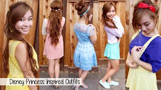 Download Outfits Based on Disney Princesses l Disney Princesses Outfits Ideas l Disneybounding Ideas Video