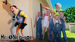 Download Hello Neighbor in Real Life Clown Robber Takes Our Treasure! SENT BY GAME MASTER!! Video