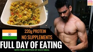 Download Full day of eating | Indian Bodybuilding Diet Video