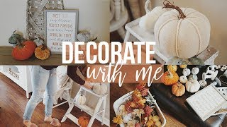 Download FALL Decorate With Me!! | Decorating for FALL 2018!!! Video