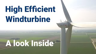 Download Lagerwey | Inside an Efficient Large Wind Turbine Video