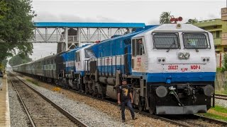 Download WIDE CAB WDP4 twins mad acceleration : Indian Railways Video