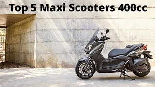 Download Top 5 Maxi Scooters 400cc (Under 35kW) Video