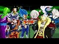 Goku CC MUI, Vegeta CC Blue Evolution, Piccolo and N17 VS Hearts, Kamin, Oren and Kamioren  | DBZBT3