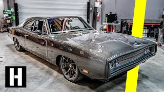 Download ALL-Carbon Body '70 Dodge Charger - 950hp worth of Carbon Fiber Madness! Video