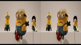 Download 3D Minions Short Movie 02 | Side by Side SBS VR Active Passive Video