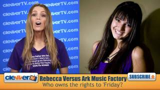 Download Rebecca Black's ″Friday″ At Center Of Lawsuit Video