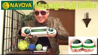 Download Nayoya Massage Ball Roller Review Video