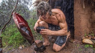 Download Rainy Day at the Adobe Hut Video