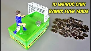 Download 10 Weird Coin Banks Ever Made Video