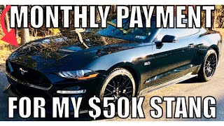 Download How Much my Monthly Payment is for my new 2018 Ford Mustang GT, Plus insurance costs! Video